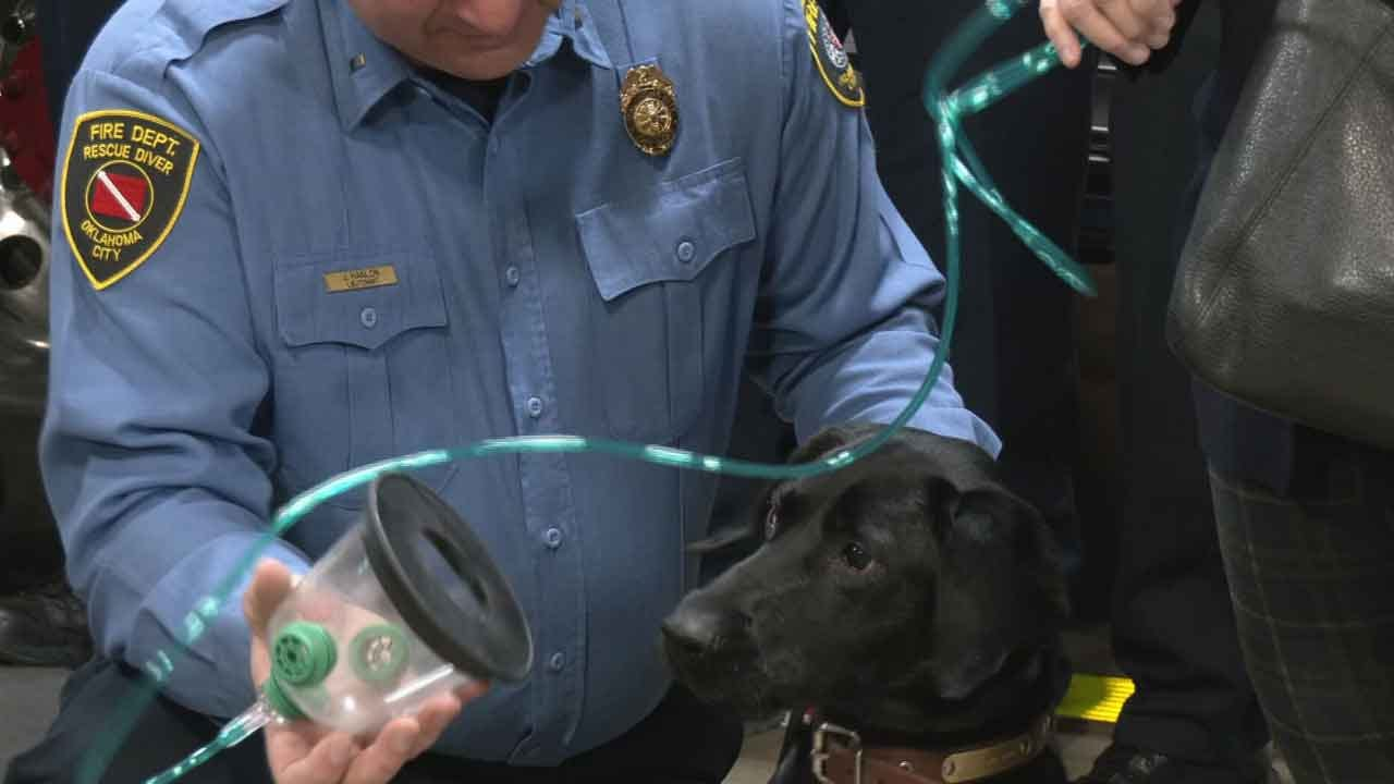 Oklahoma City Fire Department Receives Special Donation To Save Pets