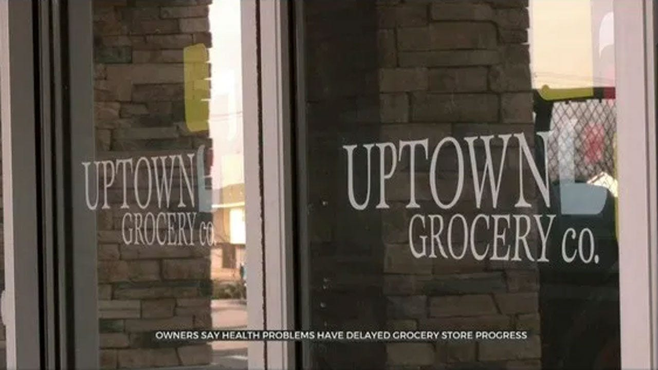 New NE OKC Grocery Store Construction Stopped; Owner Suffering From Lyme Disease