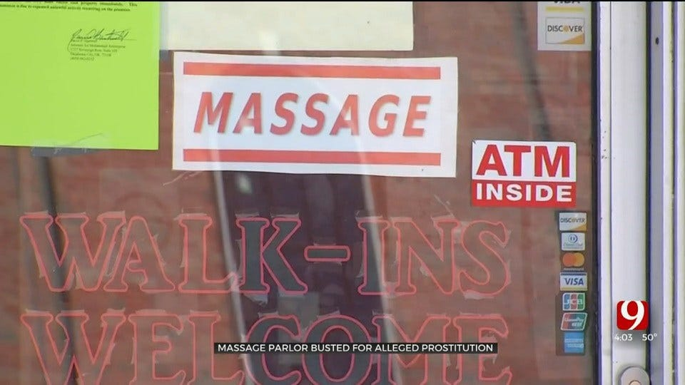 OKC Massage Parlor Near High School Busted On Prostitution Allegations