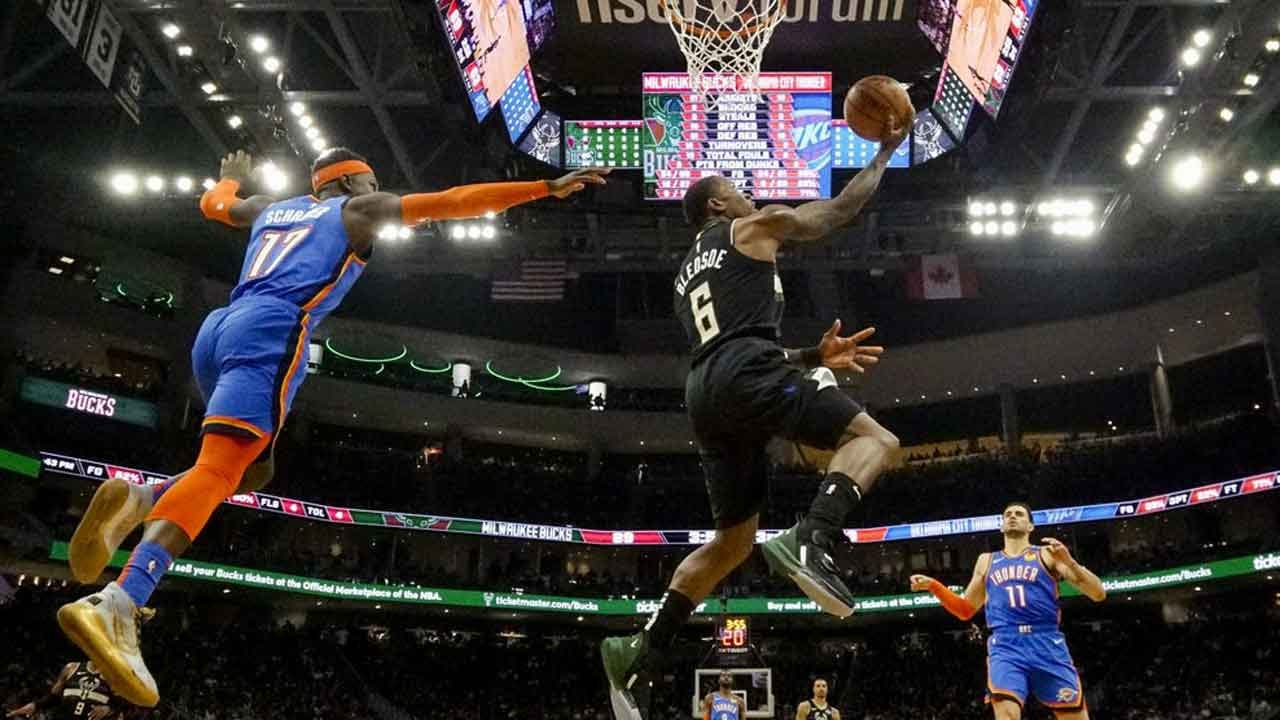 Thunder Lose In Away Game Against Milwaukee Bucks, 133-86
