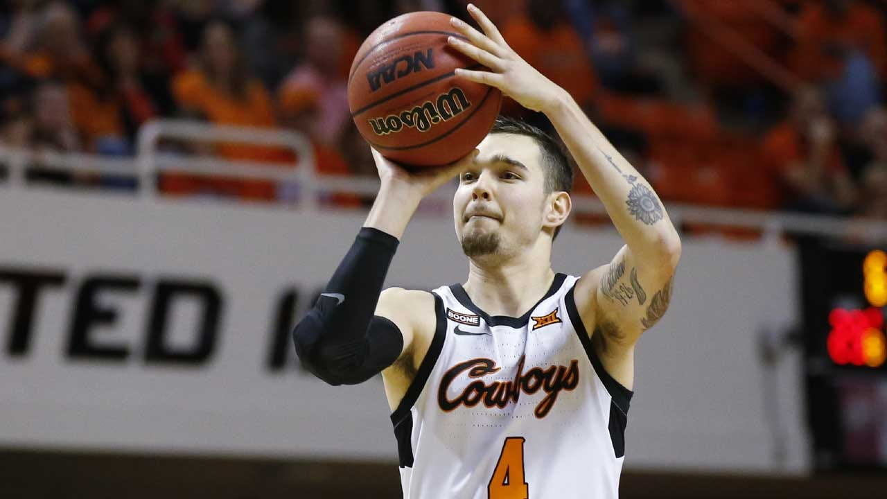 McGriff, Other Seniors Lead Oklahoma St. Over Iowa St.