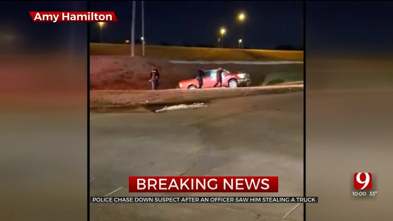 Police Chase Ends In Yukon
