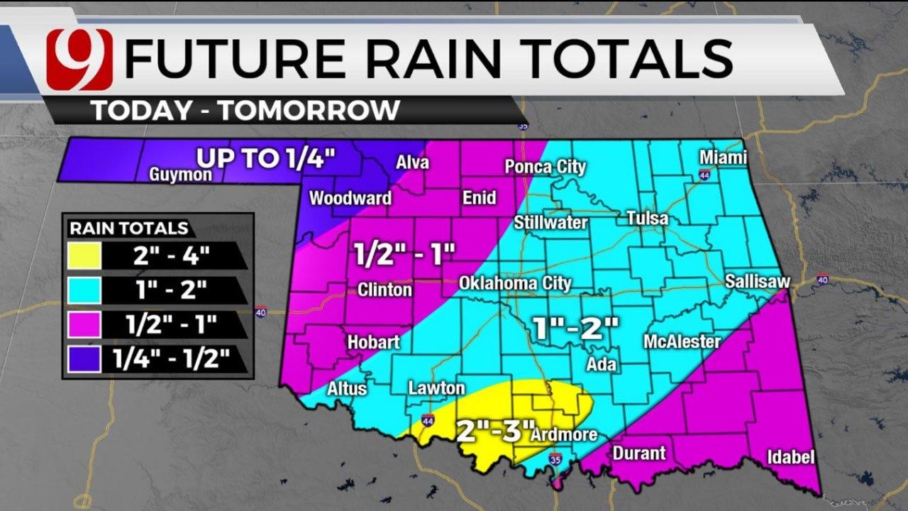 Winter Weather Returns; Freezing Rain, Ice Possible