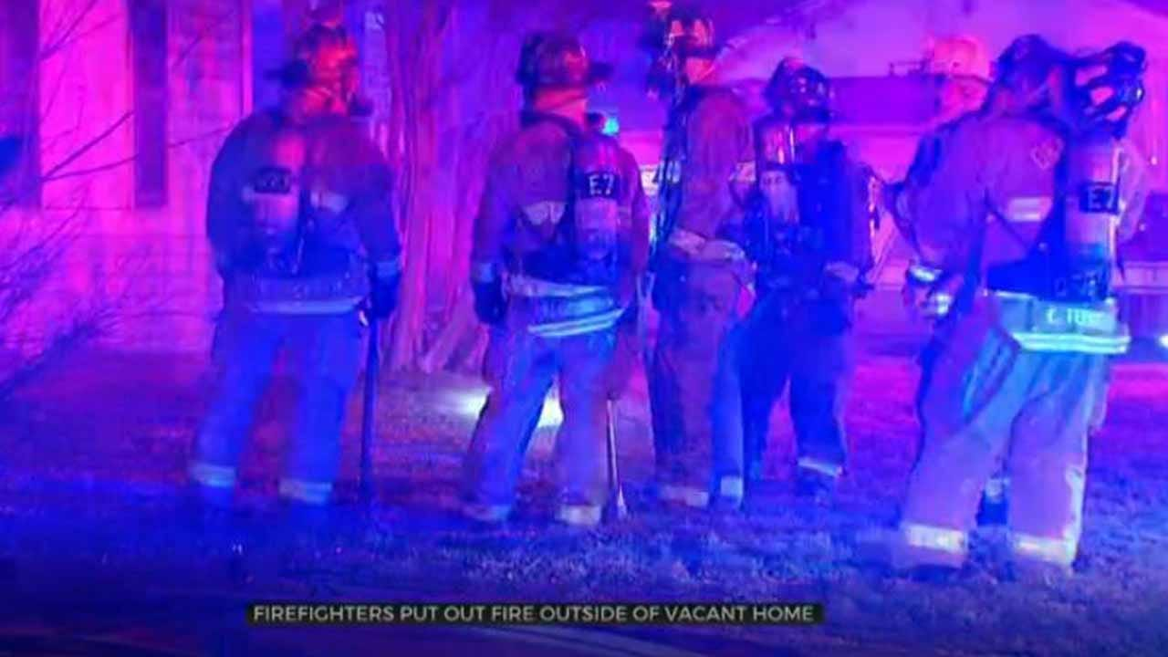 Vacant Oklahoma City House Catches Fire