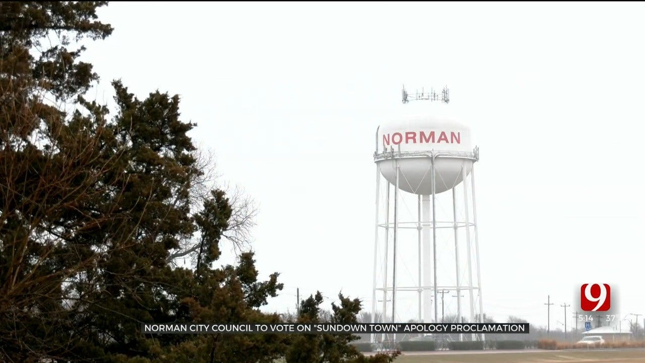 Norman City Council Passes 'Sundown Town' Apology Proclamation