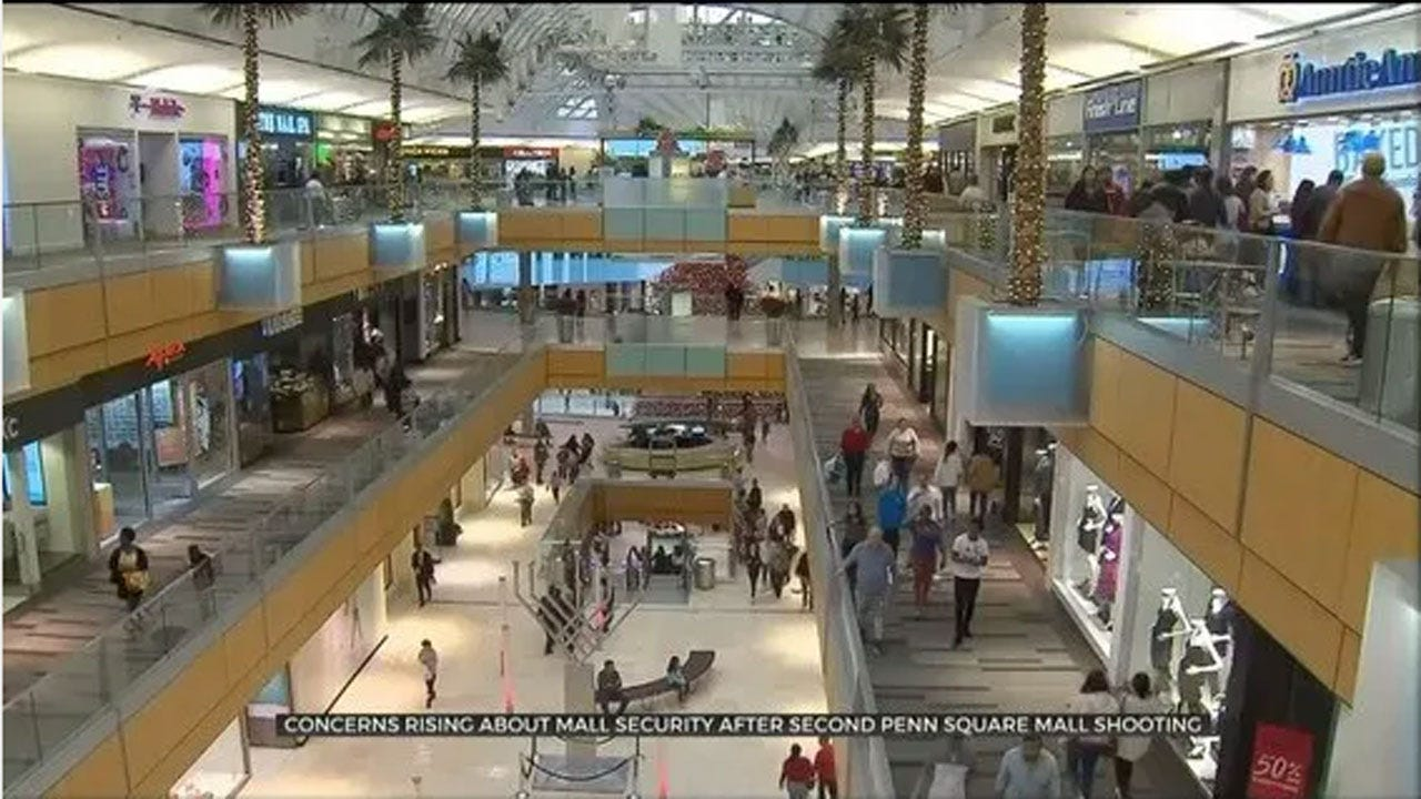 Penn Square Mall Not Discussing Security Upgrades After 2 Shootings