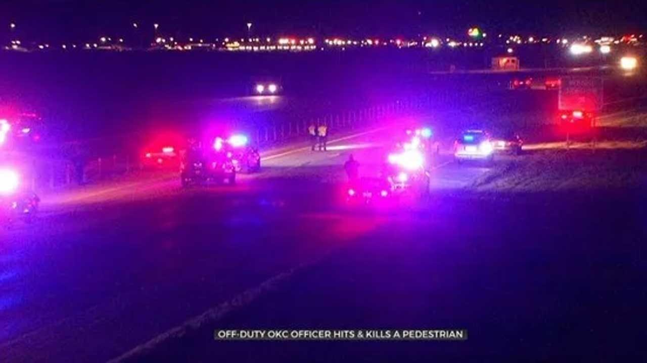Off-Duty OCPD Officer, Second Vehicle Hits, Kills Pedestrian On I-40