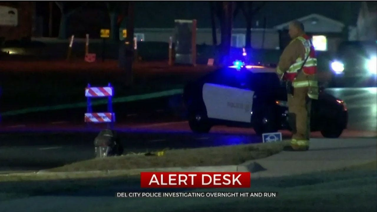 Del City Police Investigate Deadly Hit And Run Crash