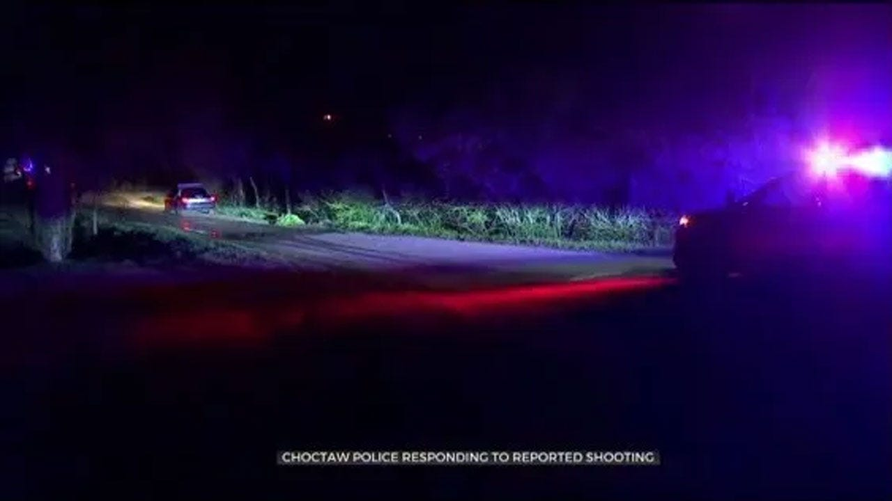 2 Taken To Hospital After Domestic Dispute Ends With Shooting In Choctaw