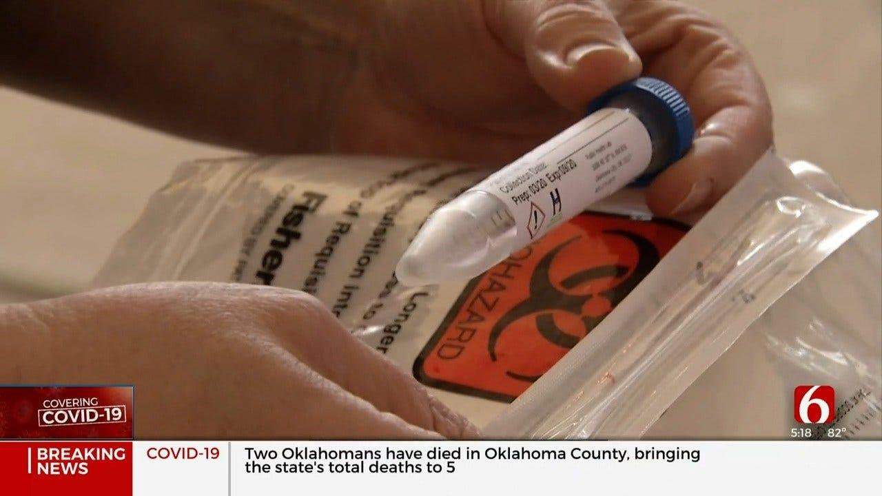 Coronavirus (COVID-19) Drive-Thru Testing Begins In Oklahoma